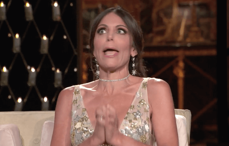 Bethenny Frankel and Carole Radziwill - RHONY