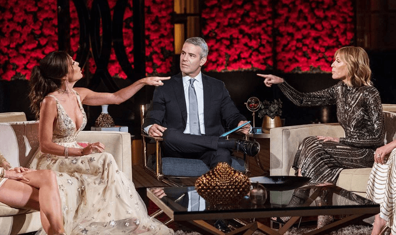 Bethenny Frankel and Carole Radziwill - Real Housewives of New York Reunion