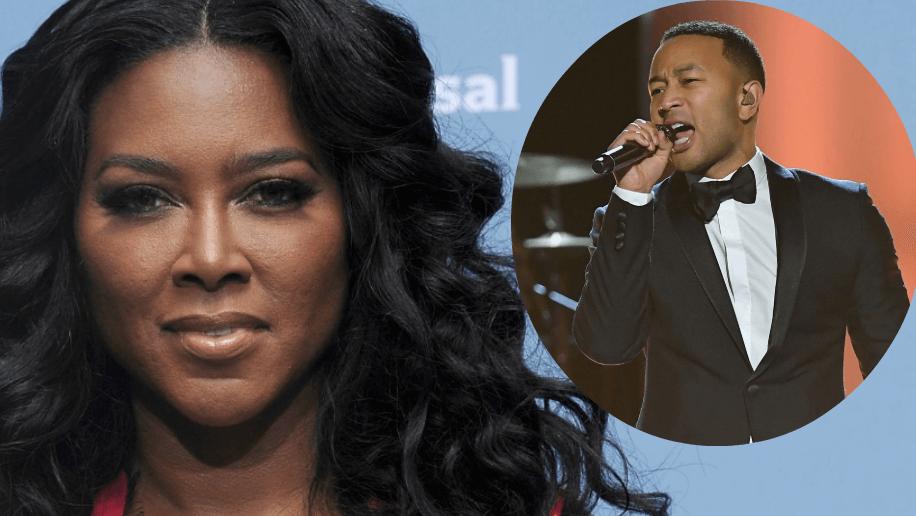 VIDEO: Kenya Moore Spotted At John Legend Concert
