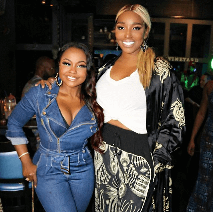 Phaedra Parks and Nene Leakes