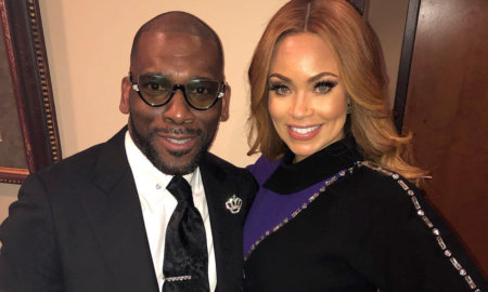 Jamal Bryant and Gizelle Bryant