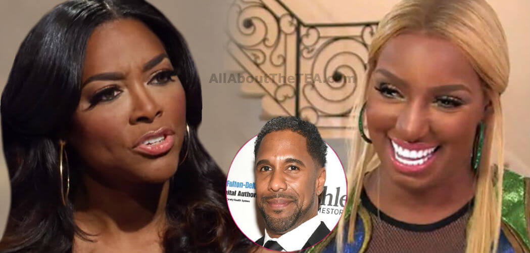 Nene Leakes and Kenya Moore