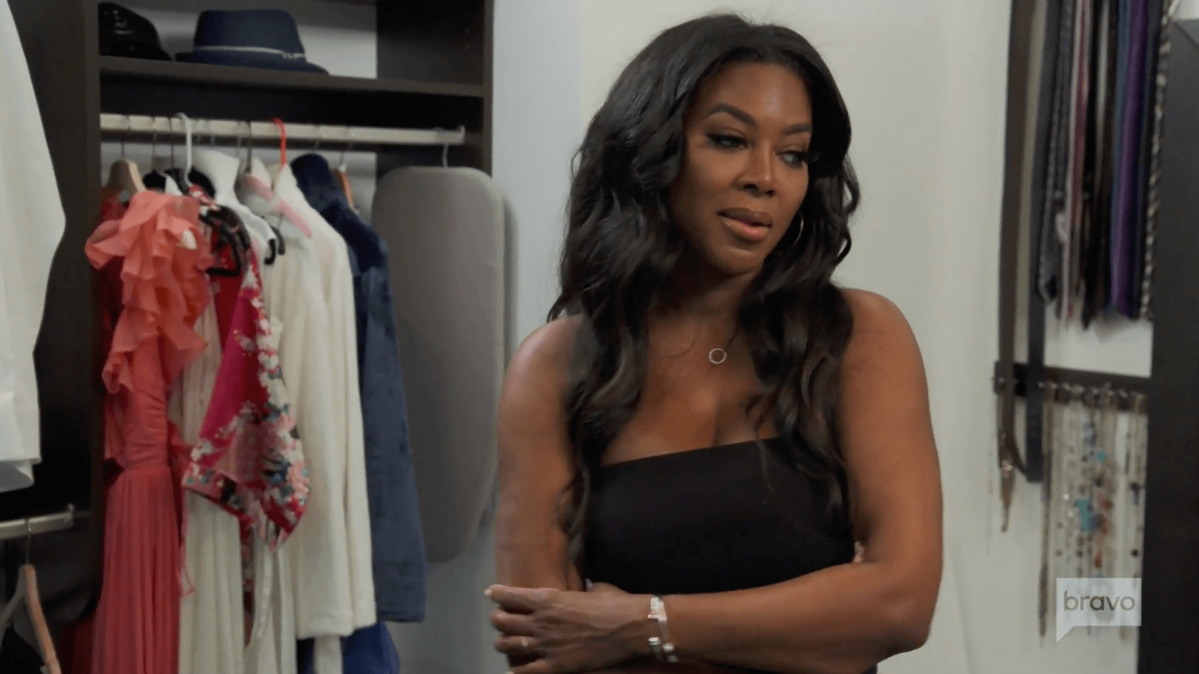 Twitter Drags Kenya Moore For Faking Marc Daly Closet Scene With