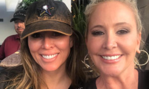 Kelly Dodd and Shannon Beador