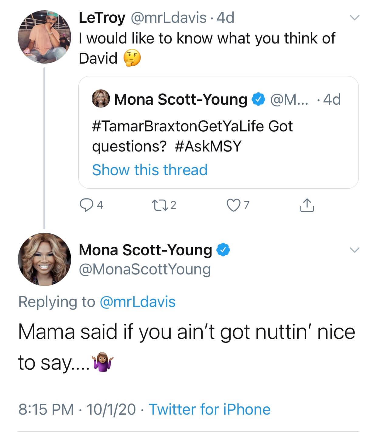 Mona Scott-Young
